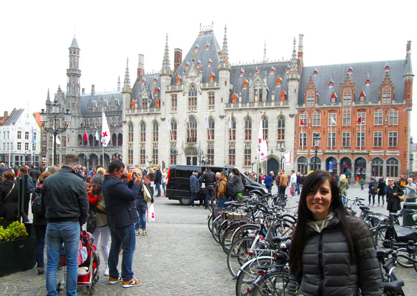 Bruges municipio belgio viaggiare