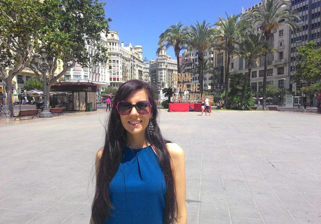 Plaza Ayuntamiento a Valencia