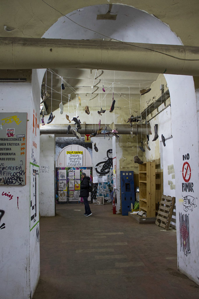 La Tabacalera-interno-Madrid-Centro culturale-Spagna-Spain-Europa