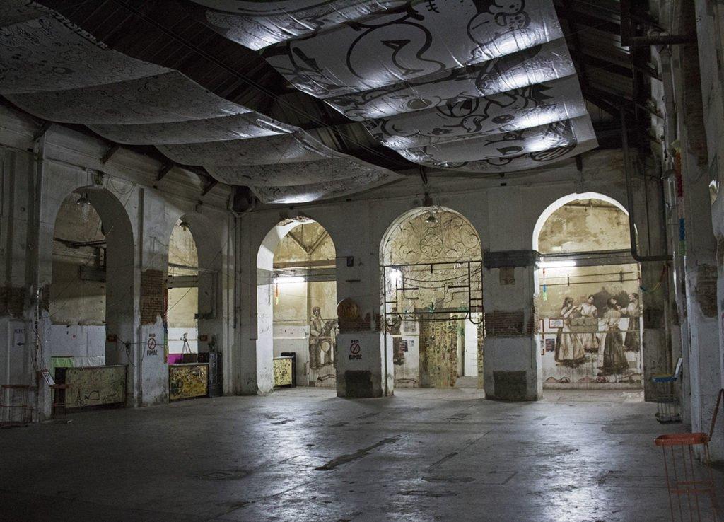 Tabacalera centro culturale Madrid Spagna-Spain