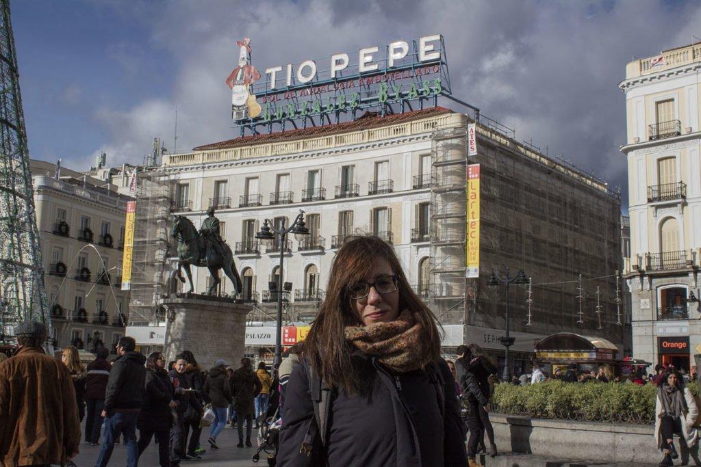 puerta del sol-tio pepe-Madrid-Spagna-Spain