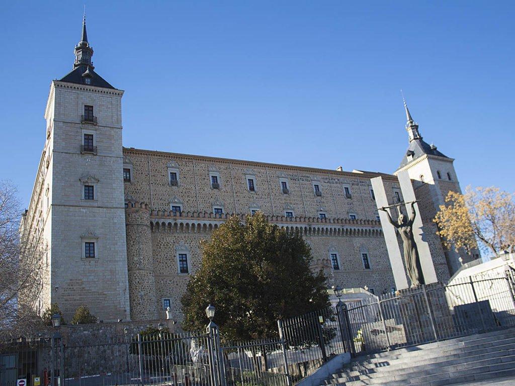 Alcazar-castello Toledo-Toledo-Spagna-Spain-Europa