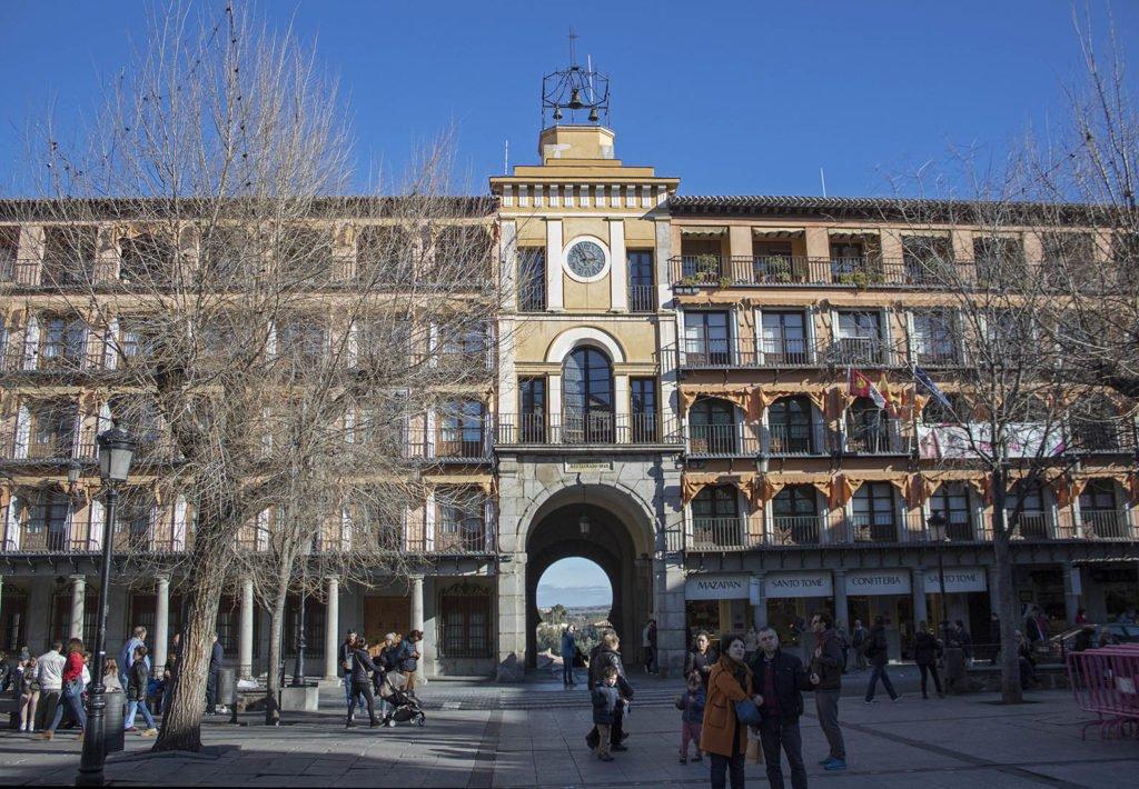 Plaza Zocodover-piazza Toledo-Spagna-Spian-Europa-Tolede
