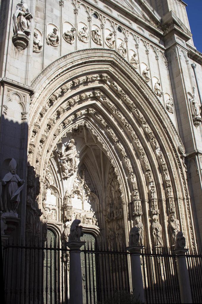 portone cattedrale-Cattedrale Primada-Cattedrale Toledo-Toledo-Spagna-Spian-Europa