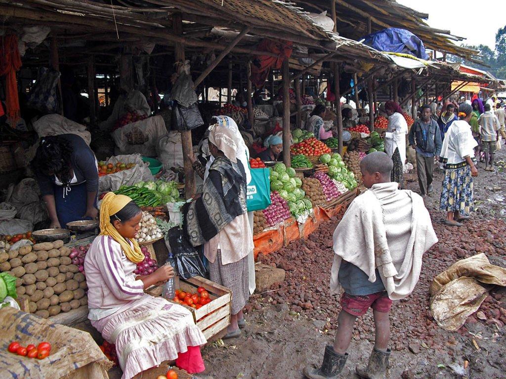Mercato di Bahir Dar-Bahir Dar-Amara region-Etiopia-Africa