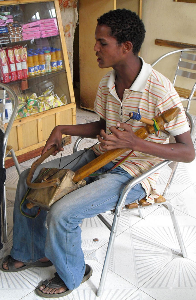 Suonatori di Masinko-musicisti tradizionali-Bahir Dar-Amara region-Etiopia-Africa
