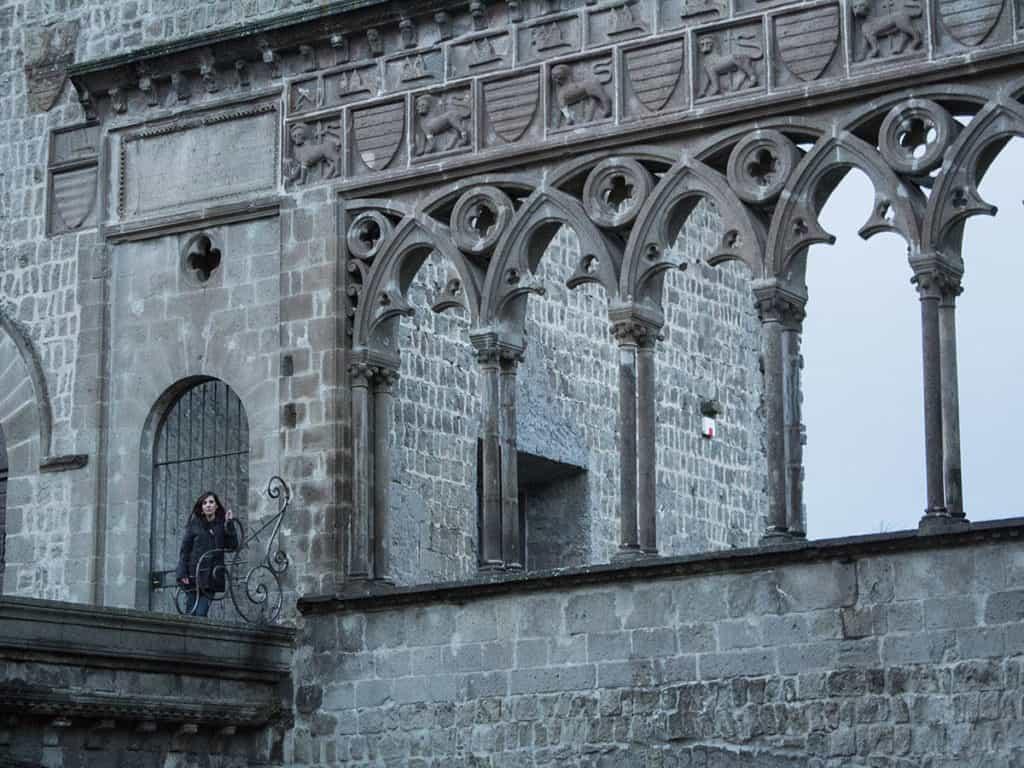 Loggia dei Papi-Loggia della benedizione-Piazza San Lorenzo Viterbo-Viterbo- Tuscia Laziale-Lazio