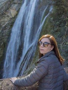 Cascata grande-Parco di Villa Gregoriana-Tivoli-Lazio-Italia-Europa
