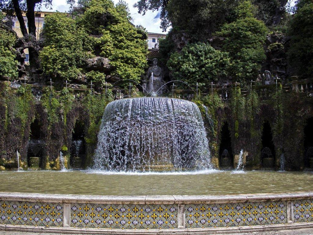 Fontanavilla d'esta-Giardini Villa D'este-Villa D'este-Tivoli-Lazio-Italia-Europa