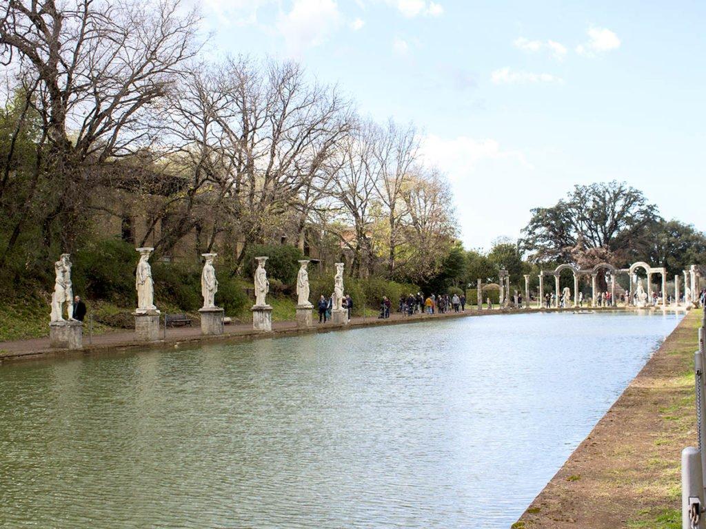 sito archeologico-Villa Adriana-Tivoli-Lazio-Italia-Europa