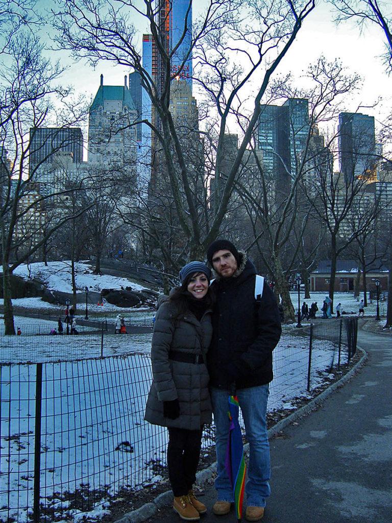 Passeggiata a Central Park-Central Park-Stati Uniti-New York-America-USA