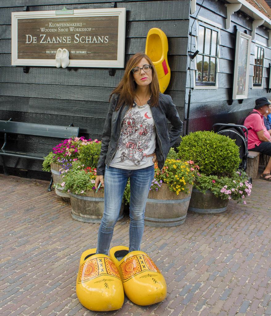 zoccoli olanda-zaanse schans-fabbrica degli zoccoli-mulini olanda-Amsterdam e dintorni-dintorni di Amsterdam-Olanda-Holland