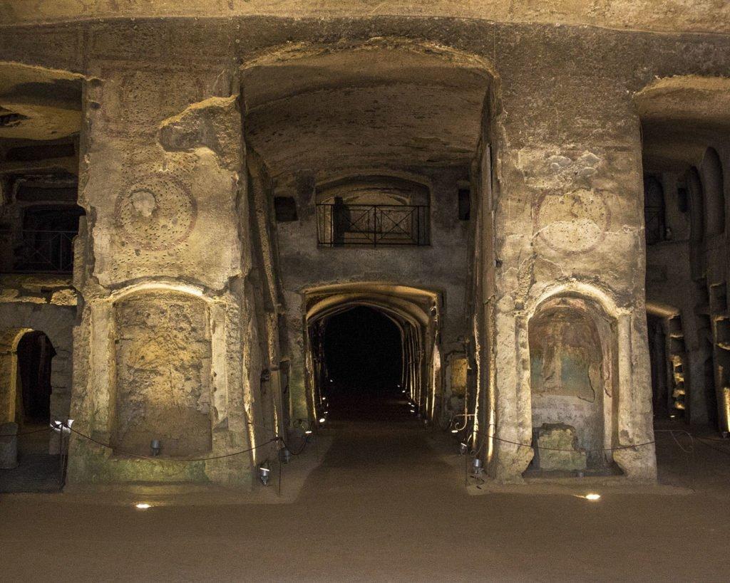 catacombe di San Gennaro - rione sanità-scavi di Napoli-grotte di Napoli-Catacombe di Napoli-Napoli-Campania-Italia