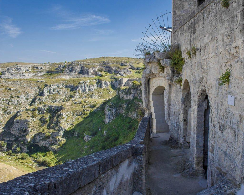 chiesa grotta-casa grotta-Sasso caveoso-sassi di Matera-Matera-Campania-Italia