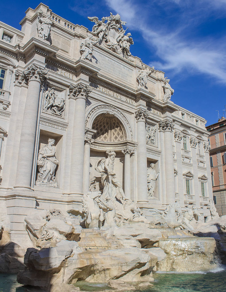 Fontana di Trevi-roma-italia-italy-europe