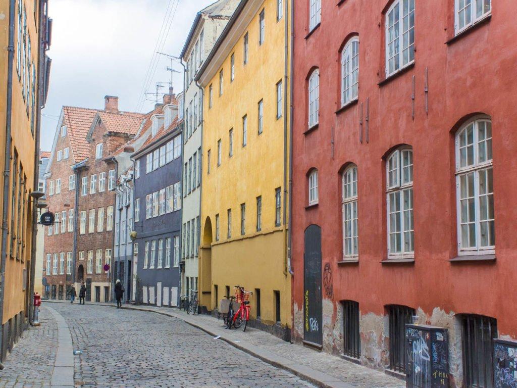 via medievale-Copenaghen-danimarca-copenhagen