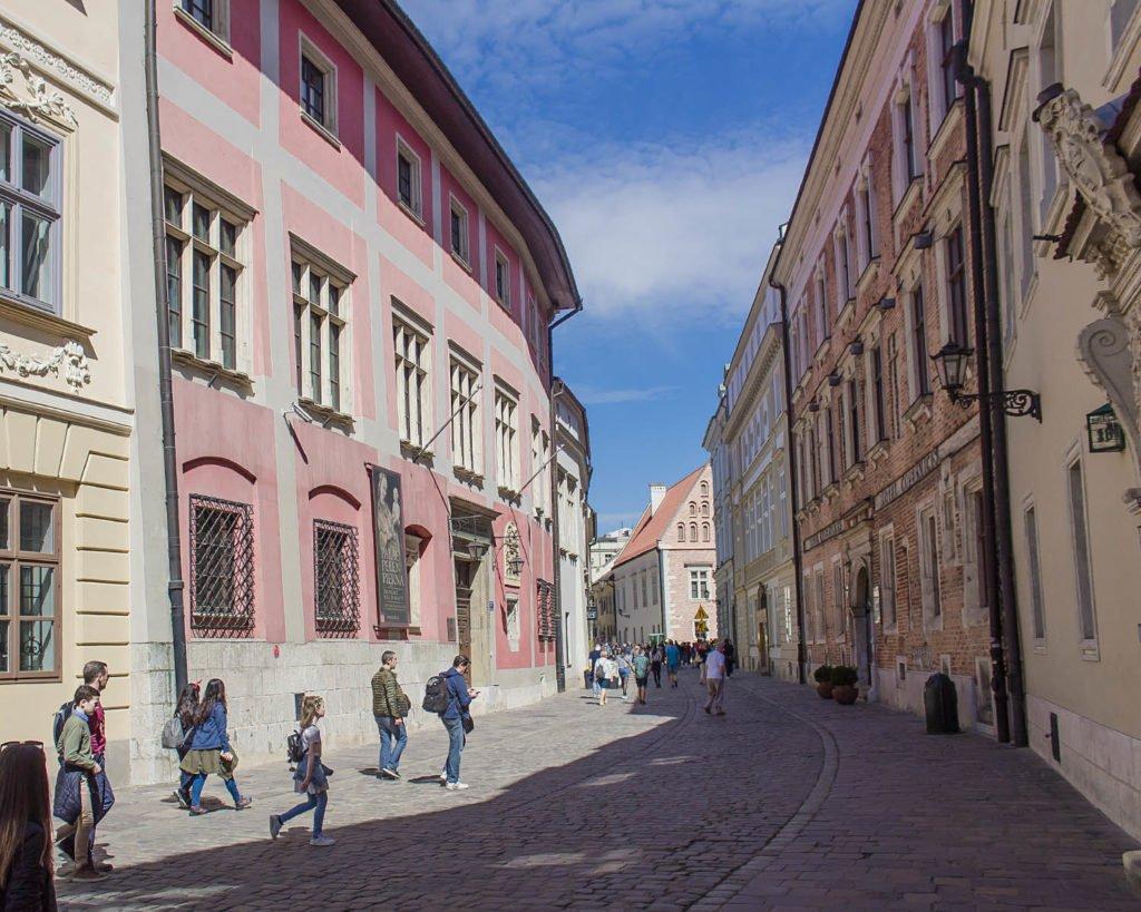 Ulika Kanonicza -Krakow-Cracovia-Polonia-Europa