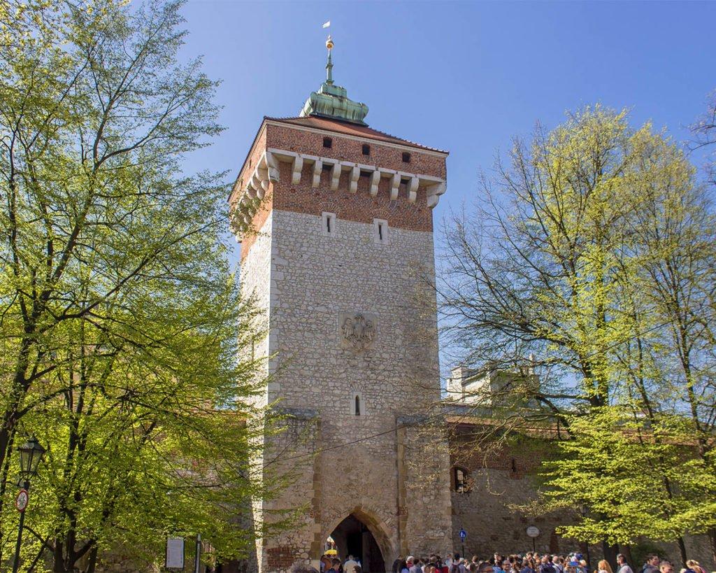 barbacane-torre-avvistamento-Cracovia-Polonia-Europa-Krakow
