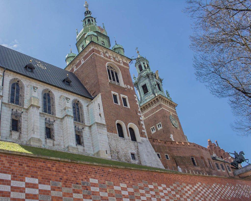 collina del wavel-castello-cracovia-krakow-polonia-europa