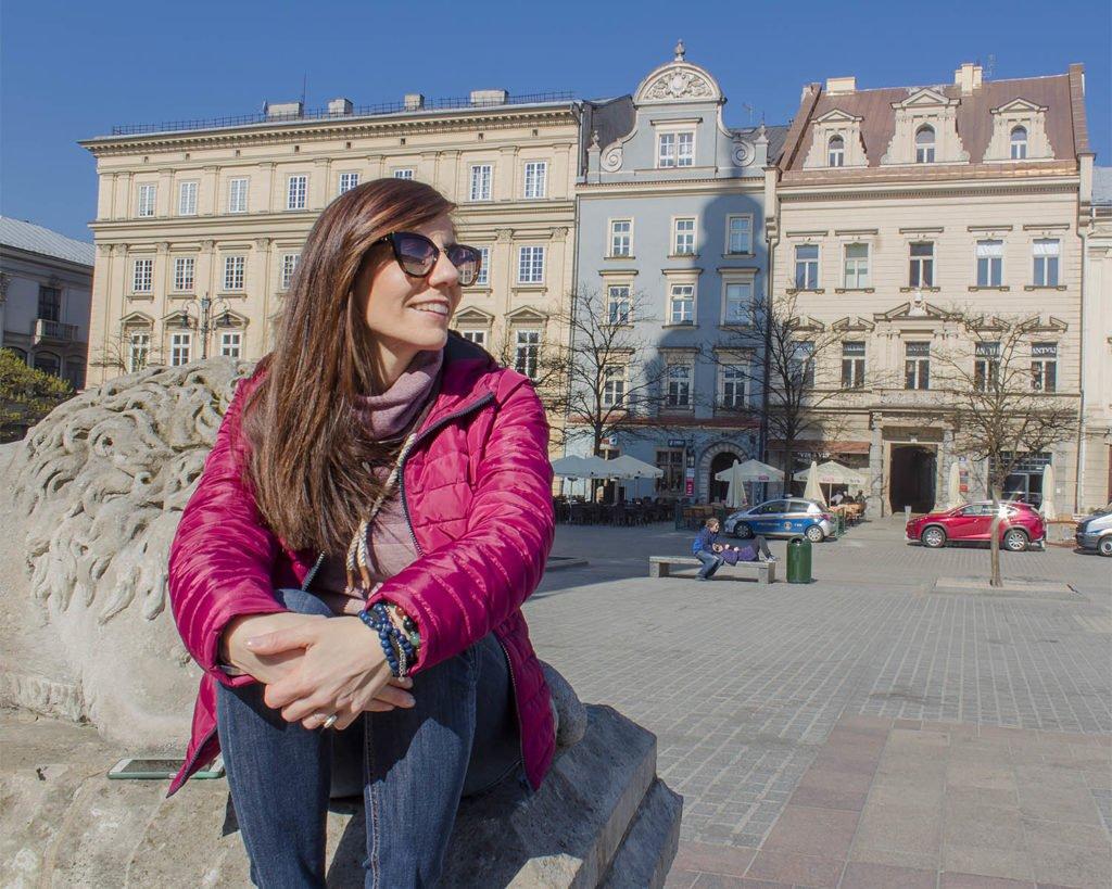 piazza del mercato-Rynek Główny-Krakpw-Cracovia-Polonia-Europa
