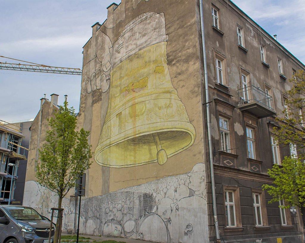 murales-blu-Cracovia-Ghetto-ebraico-Cracovia-Krakow-Polonia-Poland