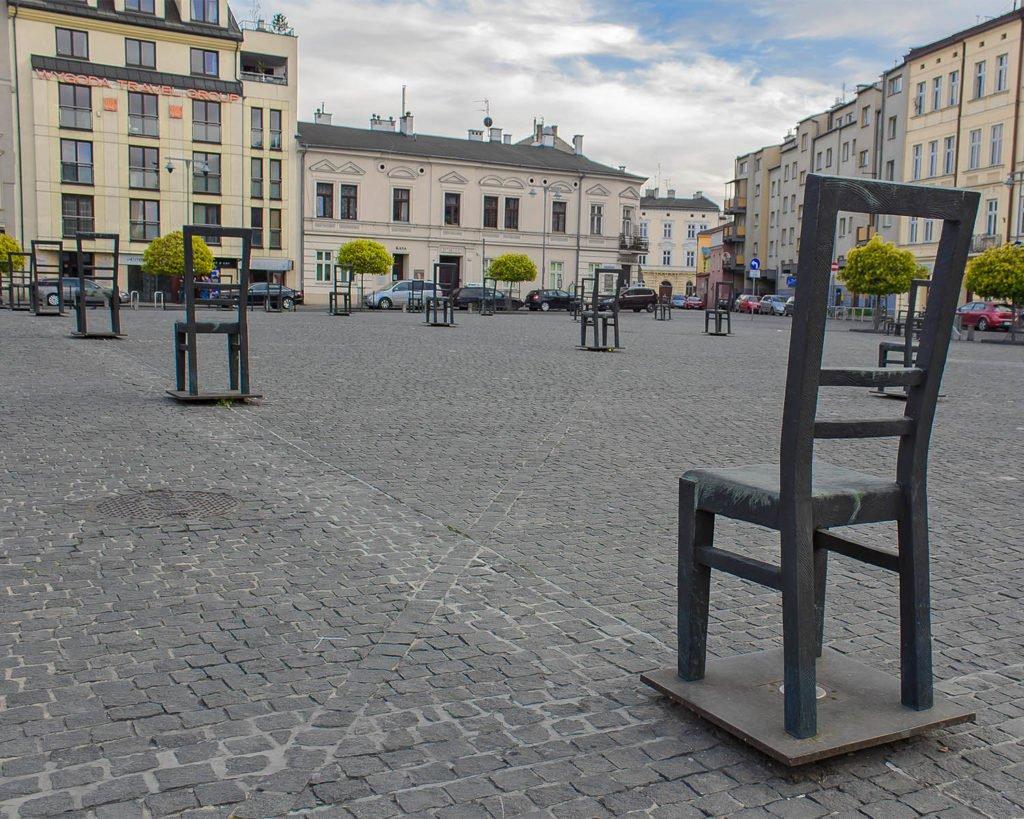 piazza degli eroi-Cracovia-ghetto ebraico-Krakow-Polonia-Poland