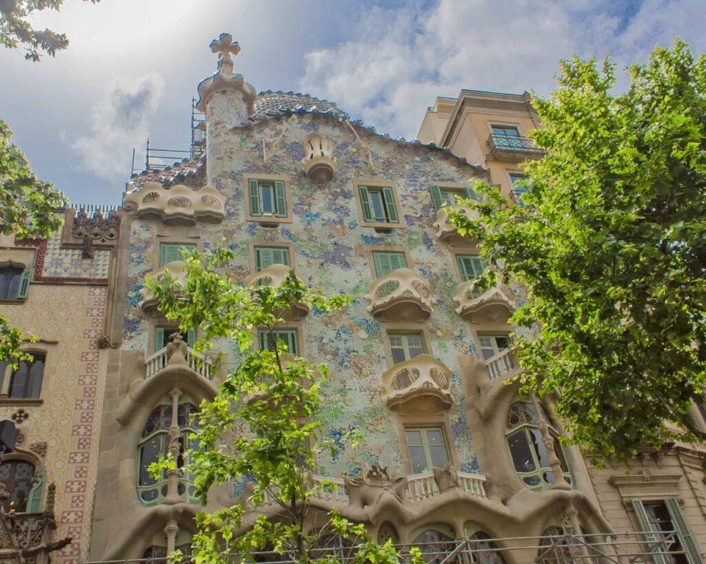casa-batllò-gaudì-Barcellona-Spagna-Spain-Europa