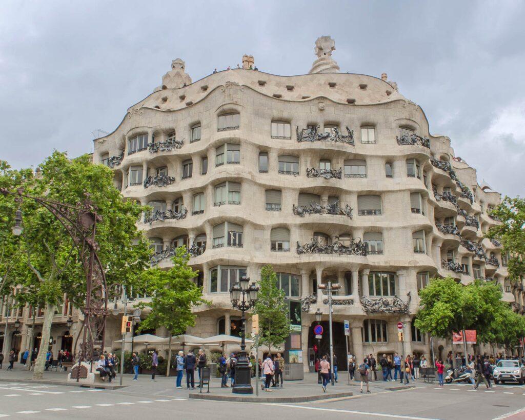 Casa milà-Barcellona-Spagna-Spain-Europa