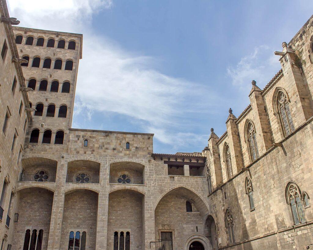 cortile-gotico-Barcellona-Spagna-Spain-Europa