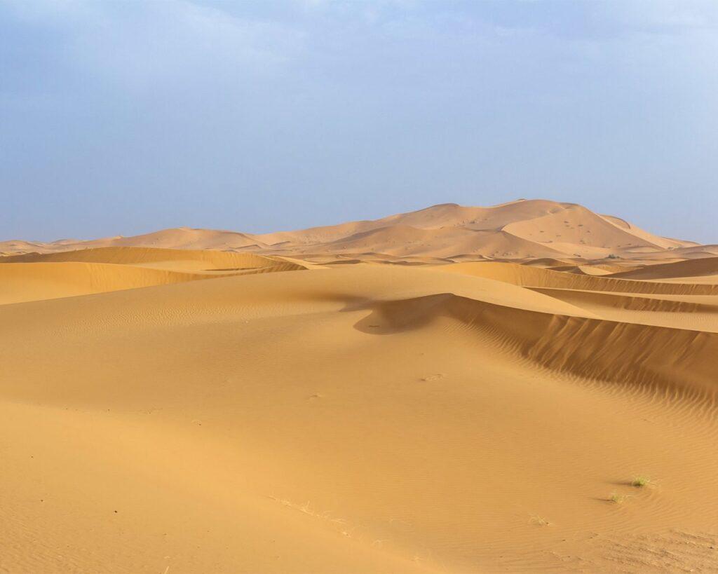 Deserto del Marocco-deserto sahara-Marocco-Africa