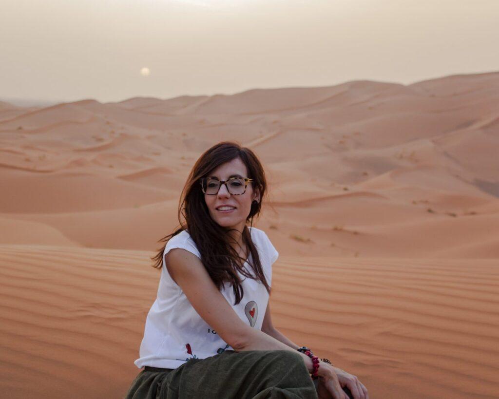 dune del sahara-Deserto del Marocco-deserto sahara-Marocco-Africa