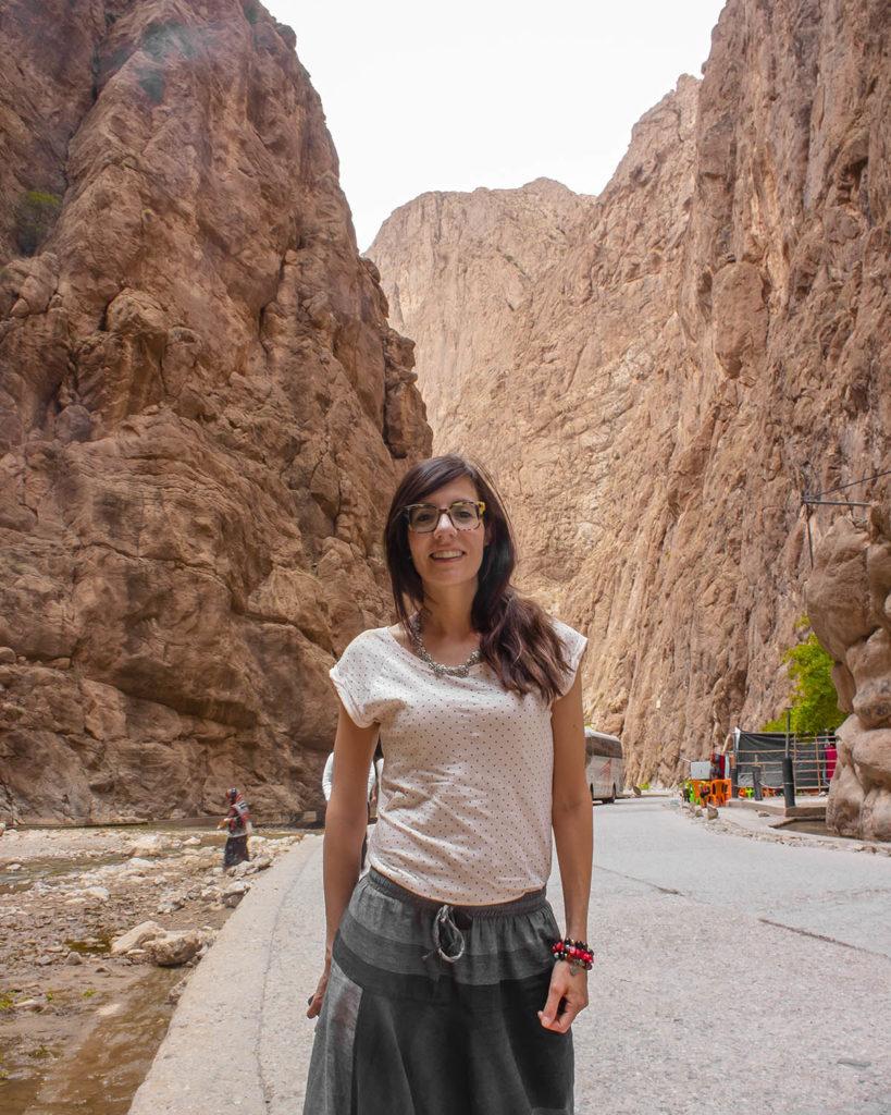 gola di todra-Deserto del Marocco-deserto sahara-Marocco-Africa