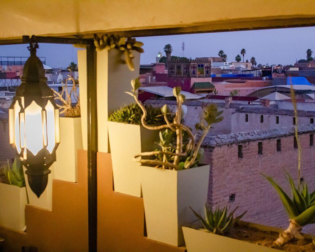 tetti Marrakech-Marocco-Africa-Marrakech