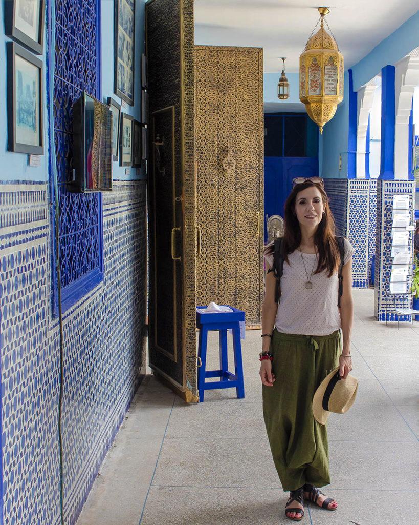 sinagoga-mellah- quartiere ebraico-Marrakech-Marocco-Africa